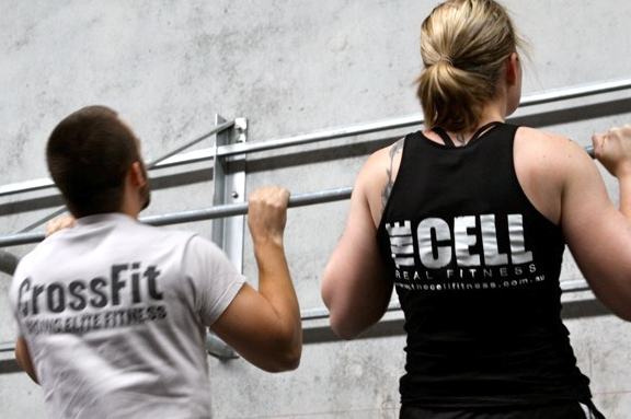 Affiliate Gathering - Pull Ups, Michelle and Grover