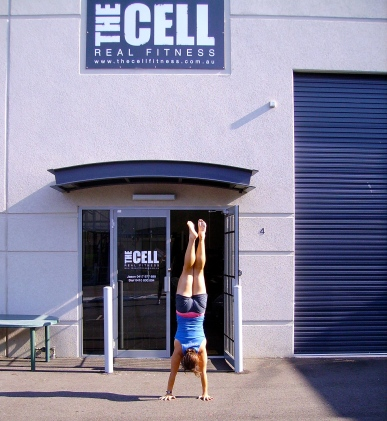 Handstand Time @ The Cell