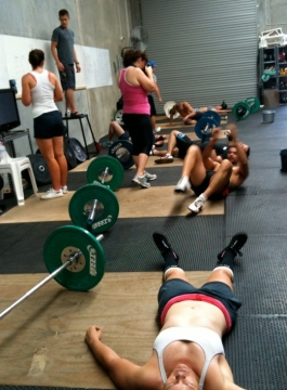 CrossFit Endurance Cert - Trainer WOD aftermath